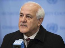 Embaixador palestino da ONU demanda acabar com ocupação de Israel em Gaza
