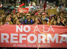A exemplo da América Latina, Uruguai diz não à reforma 'Viver sem Medo'