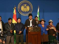 Em meio a golpe de Estado, Evo renuncia à presidência da Bolívia