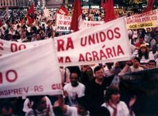 """""""Abril Vermelho"""": camponeses brasileiros exigem reforma agrária e justiça social"""