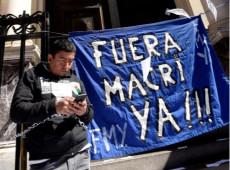 Milhares de argentinos ocupam as ruas contra a fome, baixos salários e dívida do governo Macri