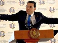 Guatemala / Jimmy Morales, não grato