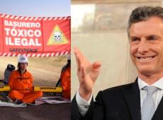 No fim de mandato como presidente da Argentina, Macri importa até lixo tóxico