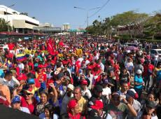 """""""Aqui tem dignidade"""", diz Maduro ao anunciar rompimento de relações com os EUA"""