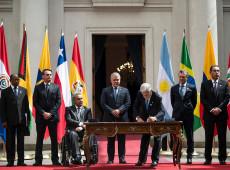 Prosul: encontro de presidentes latino-americanos no Chile não foi mais que uma foto