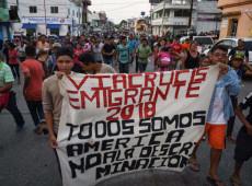 Não é uma caravana de migrantes, mas um movimento social que busca uma nova vida