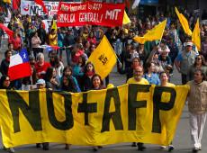 No Chile, o modelo de previdência privada falhou e aposentados vivem na miséria