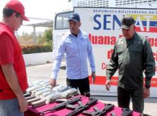 Venezuela apreende armamento proveniente dos EUA