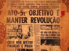 Há 50 anos, AI-5 dava início aos tempos mais sombrios da ditadura no Brasil