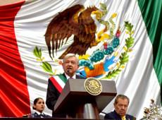 Combate à corrupção e fim do neoliberalismo marcam discurso de posse de Obrador