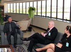 Conselheiro da Embaixada dos EUA visita TRF-4 e diz que acompanha Lava Jato e STF