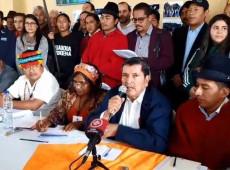 No Equador, mais de 180 organizações apresentam projeto econômico anti-neoliberal