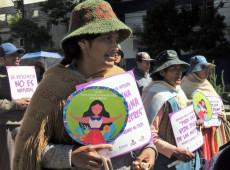 Números apontam que a violência contra a mulher é um tema preocupante na Bolívia