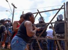 PM age com violência em despejo para construção de megaporto no Maranhão