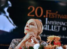 "Grande Teatro de Havana presta homenagem à ""prima ballerina assoluta"" Alicia Alonso"