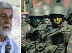 """""""Militares não têm que dar opinião política"""", diz Amorim"""