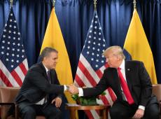 EUA tentam instaurar uma guerra entre Colômbia e Venezuela, diz líder colombiano